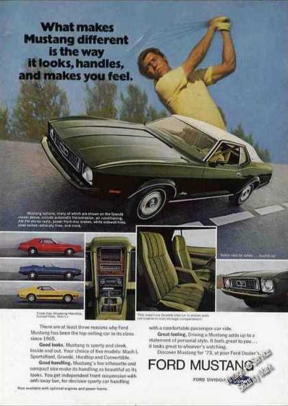 Ford Mustang Photos Nice Golf Theme (1973)