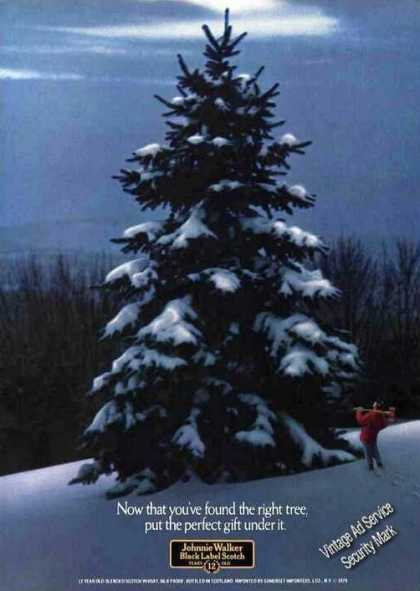 Johnnie Walker Black Wild Christmas Tree (1979)