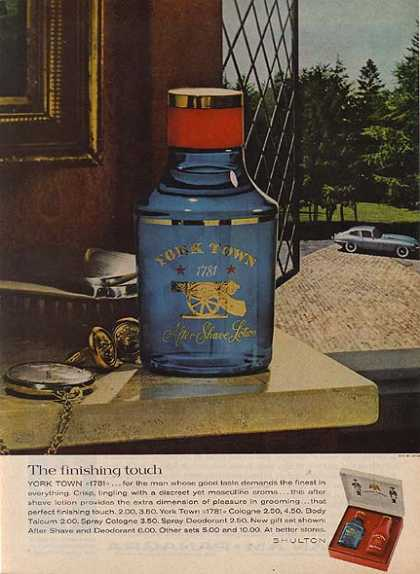 Yorktown's 1781 After Shave Lotion (1963)