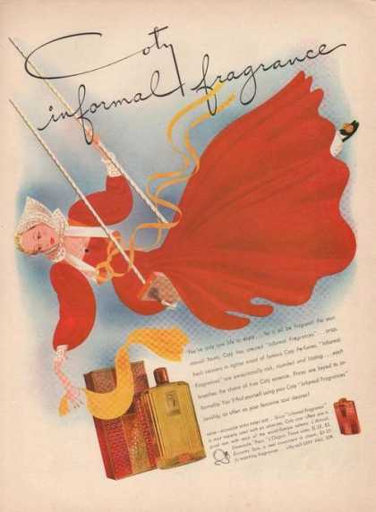 Coty Informal Fragance (1941)