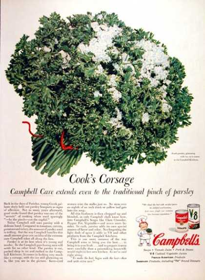 Campbell's Soup Parsley (1956)