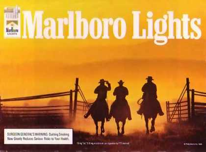Marlboro Cigarettes – Cowboys in the Sunset – Sold (1996)