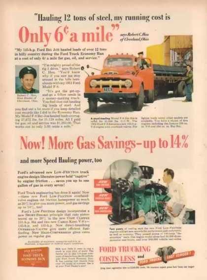 Ford Trucks – 6 Cents a Mile – Sold (1951)