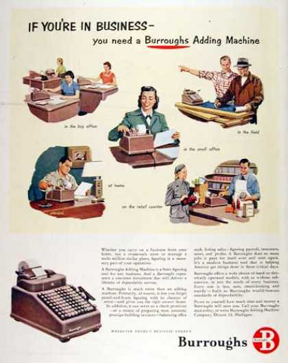 Burrough's Adding Machine (1951)