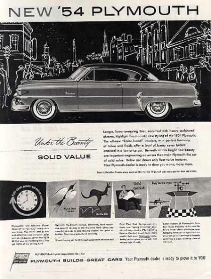 Chrysler's Plymouth (1954)