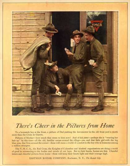 Kodak – There's Cheer in the Pictures from Home (1918)