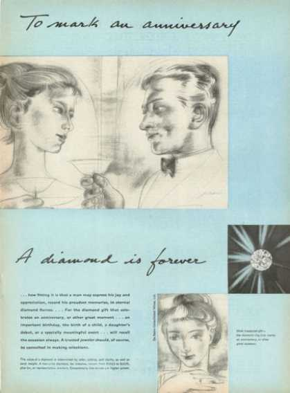 De Beers Diamond Is Forever Anniversary (1955)