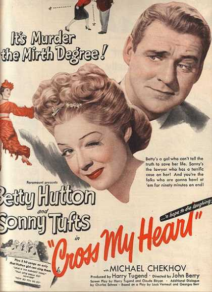 Cross My Heart (Betty Hutton and Sonny Tufts) (1946)
