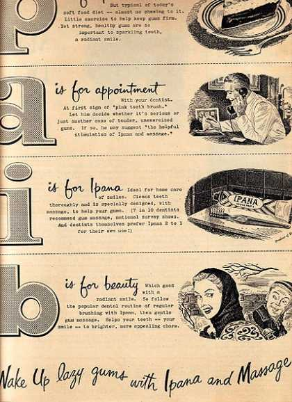 Ipana's Tooth Paste (1947)