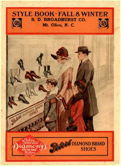 Peters Shoe Co.'s Peters Diamond Brand Shoes – Style Book – Fall & Winter
