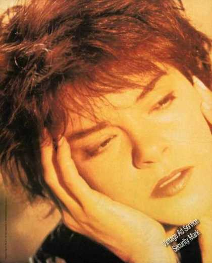 Rosanne Cash Photo Interiors Album Music (1991)