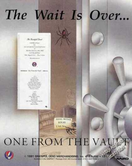 """The Grateful Dead """"One From the Vault"""" Album (1991)"""