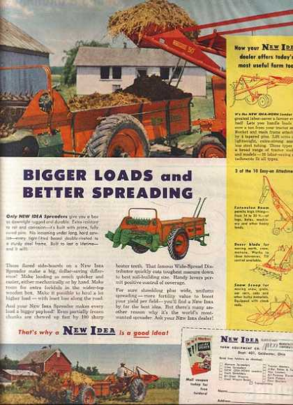 New Idea's Spreaders (1952)