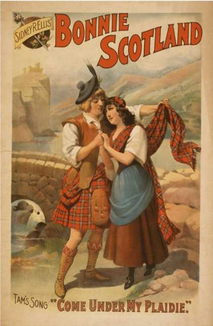 Sidney R. Ellis' Bonnie Scotland Scottish Play Poster No.2