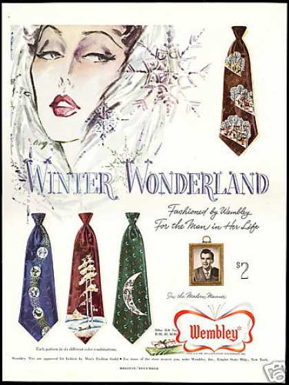 Pretty Woman Wembley Mens Ties Wonderland (1950)