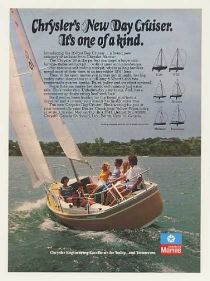 Chrysler 20-foot Day Cruiser Sailboat Photo (1977)