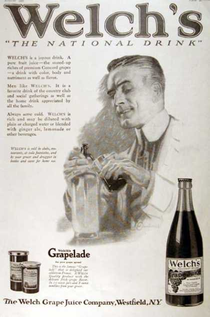 Welch's Grape Juice (1920)