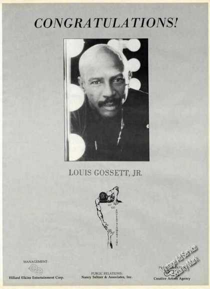 Louis Gossett, Jr. Photo Large Trade (1987)