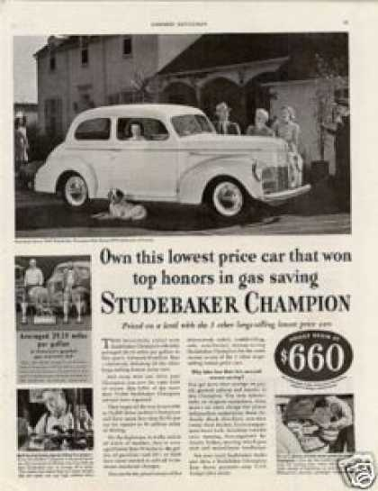 Studebaker Champion Car (1940)