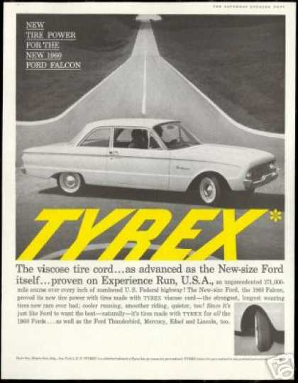 Ford Falcon 2 Dr Photo Tyrex Tire Vintage (1960)