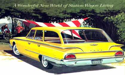 Ford Country Sedan (1960)