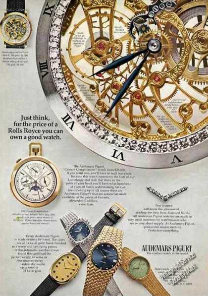 Audemars Piguet for the Price of a Rolls Royce (1973)