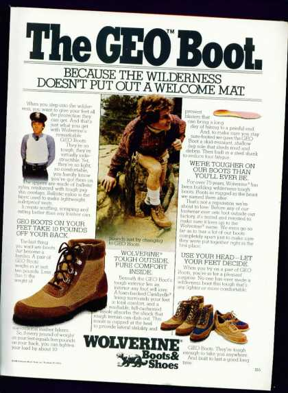 The Geo Boot From Wolverine Boots & Shoes (1982)