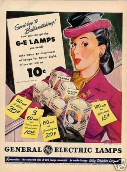 G-e Electric Lamps (1945)