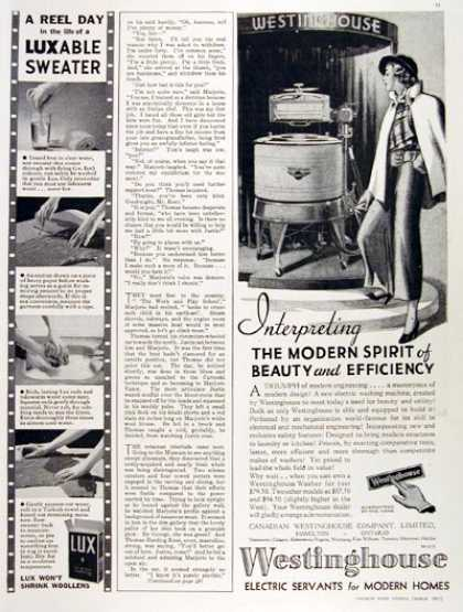 Westinghouse Washing Machine (1935)