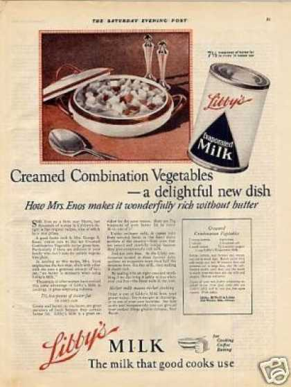 Libby's Evaporated Milk (1923)