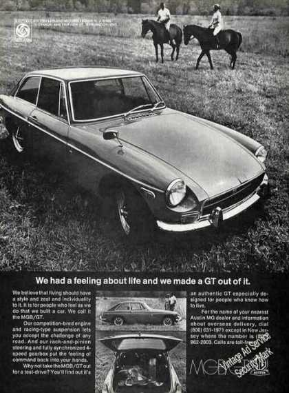 Mgb/gt Photos Nice Car (1972)
