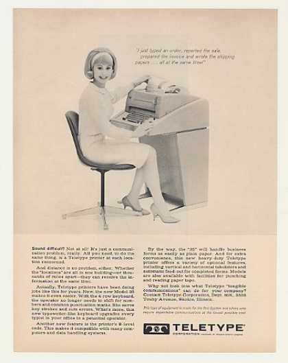 Teletype Model 35 Printer (1963)