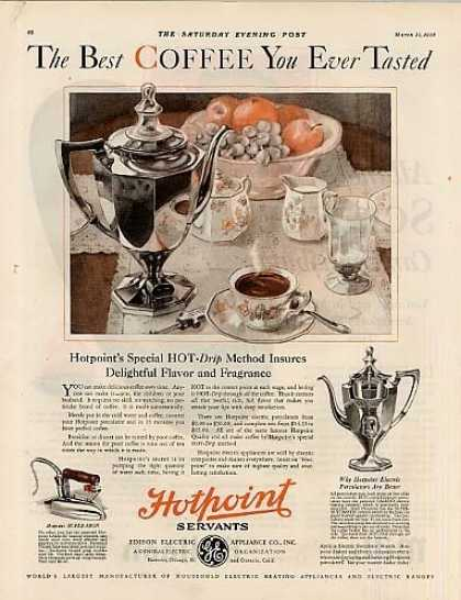 Hotpoint Percolator Color (1928)