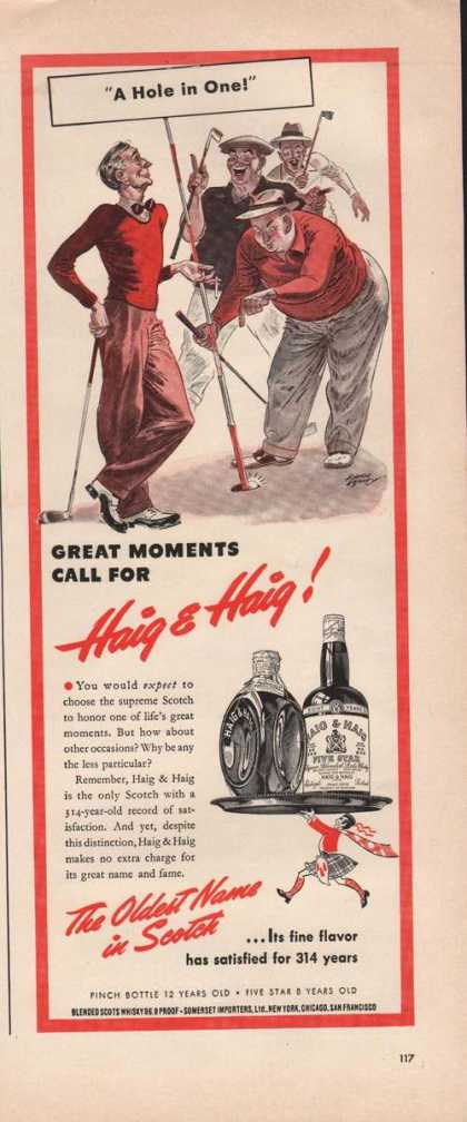 Haig & Haig Oldest Name In Scotch (1941)