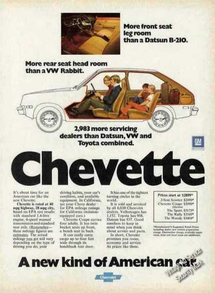 Chevrolet Chevette Cutaway View Car (1976)