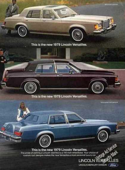 Lincoln Versailles Photos (3) Car (1979)