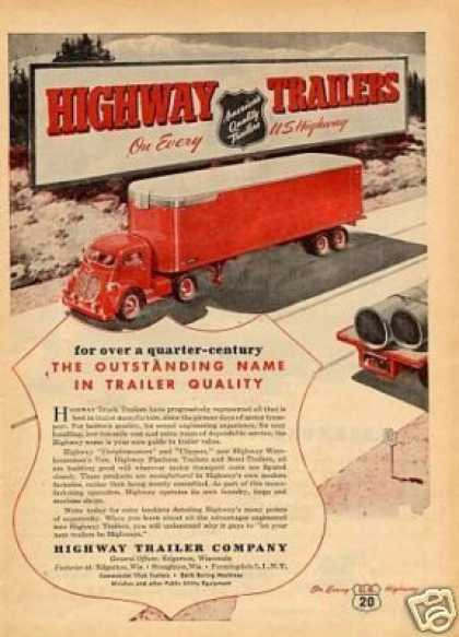 Highway Trailers (1947)