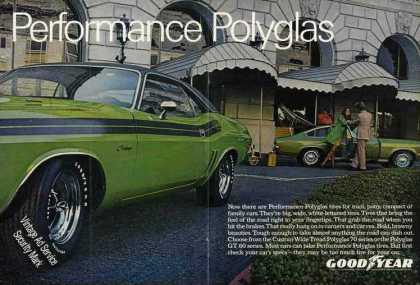 Goodyear Tires Dodge Challenger Large Photo (1971)