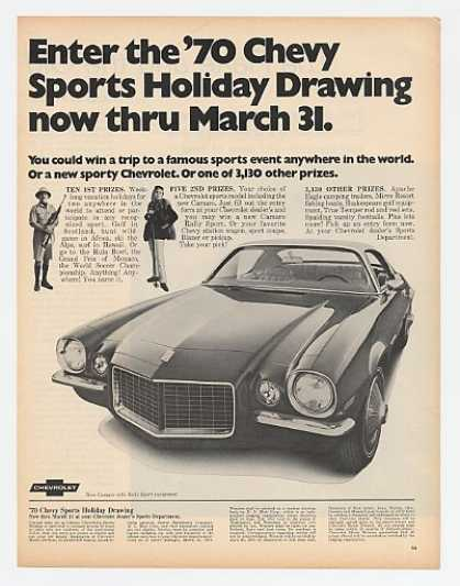 Chevy Camaro Rally Sport Sports Contest (1970)