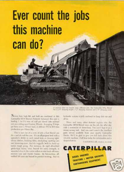 Caterpillar Tractor Ad Ht4 Shovel (1953)