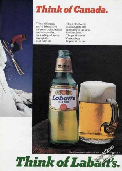 Think of Labatt's Beer Think of Canada (1980)