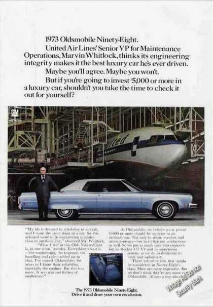 Oldsmobile Ninety-eight Photo United (1973)