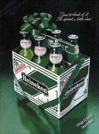 Heineken Beer Spread a Little Cheer (1982)