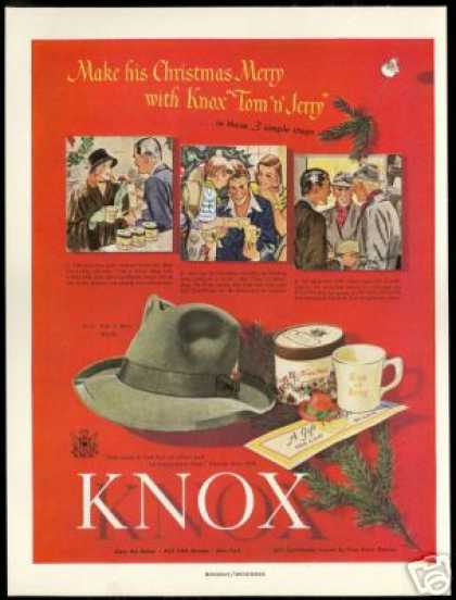Knox Hat Certificate Tom & Jerry Mug (1947)