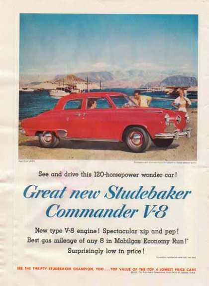 Studebaker Commander V-8 Car – Red (1951)