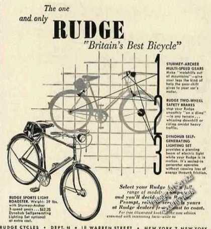 "Rudge ""Britains Best Bicycle"" (1951)"