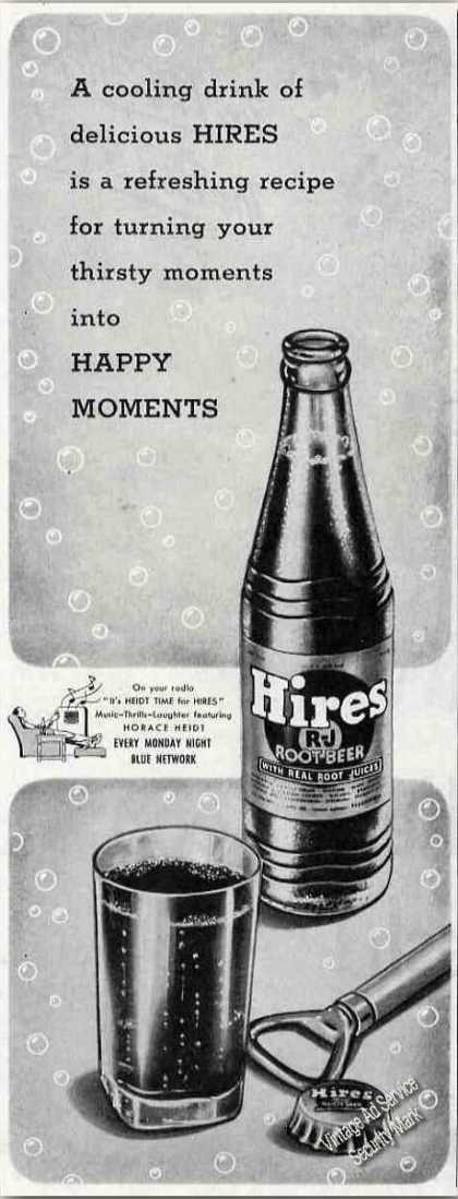 "Hires Root Beer ""Happy Moments"" (1944)"