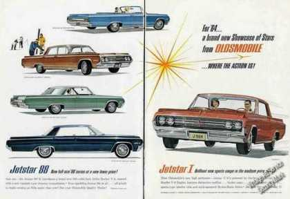 Oldsmobile Jetstar 88 Art Collectible Car (1964)