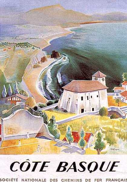 Cote Basque by Vecoux (1950)