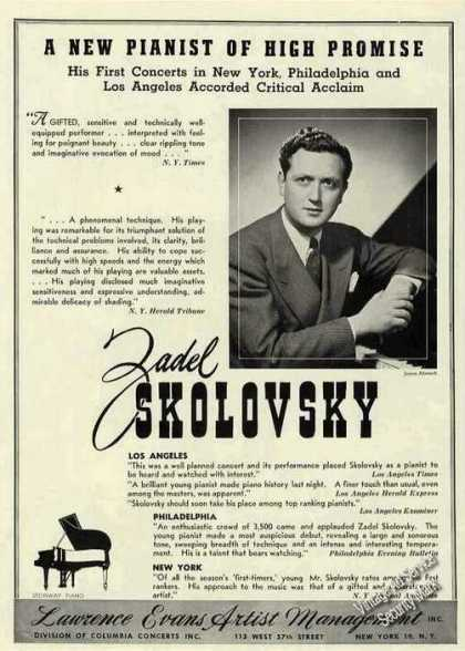 Zadel Skolovsky Pianist Collectible (1944)